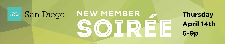 New Member Soiree banner