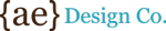 {ae} Design Co. Logo