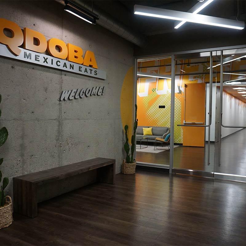 Design and Architecture at QDOBA Headquarters - Flavor Central - Interior 1