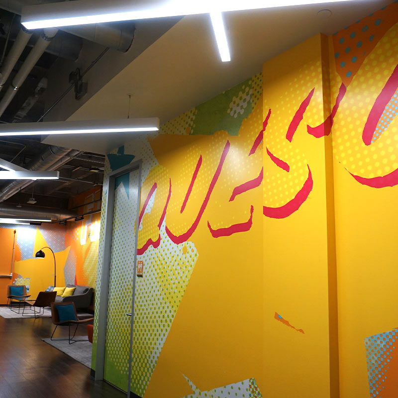 Design and Architecture at QDOBA Headquarters - Flavor Central - Interior 2