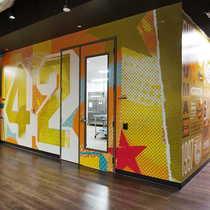 Design and Architecture at QDOBA Headquarters - Flavor Central - Interior 3