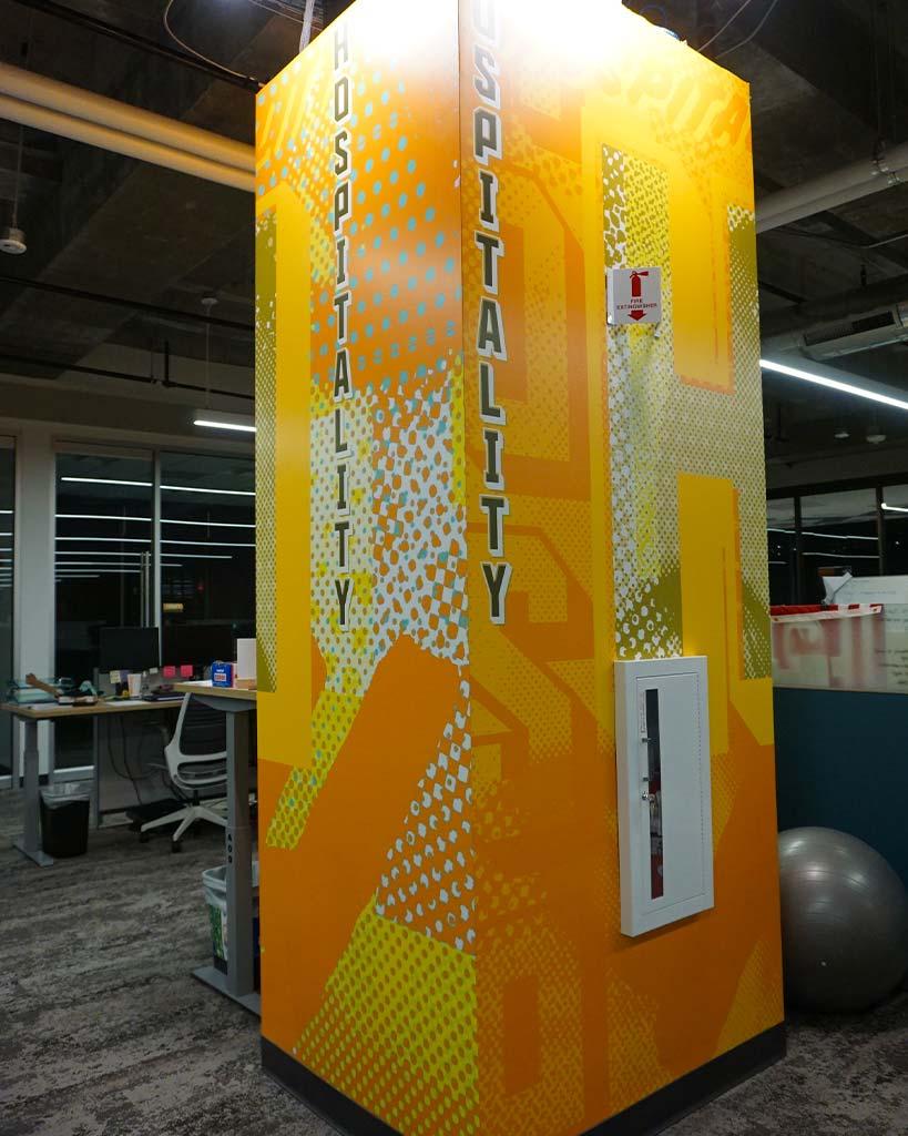 Design and Architecture at QDOBA Headquarters - Flavor Central - Pillar 1