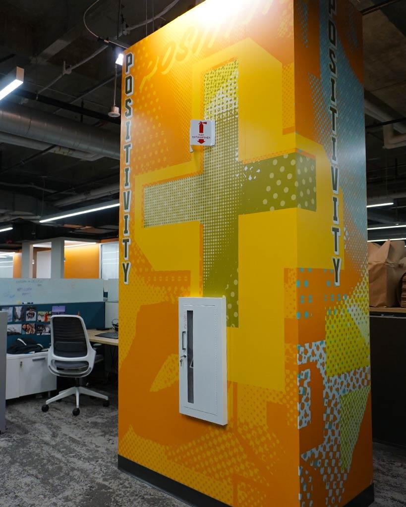 Design and Architecture at QDOBA Headquarters - Flavor Central - Pillar 2