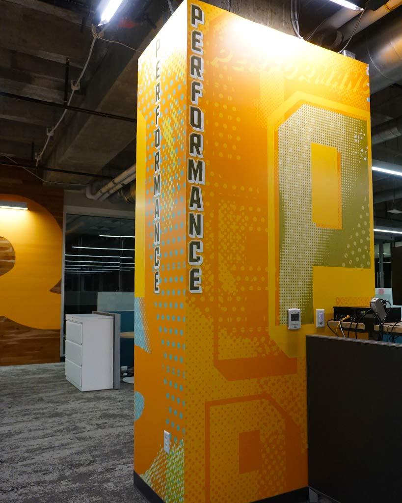 Design and Architecture at QDOBA Headquarters - Flavor Central - Pillar 3