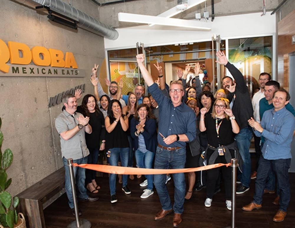 Design and Architecture at QDOBA Headquarters - Flavor Central - Grand Opening Party